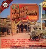 40 Country Masterpieces - Various