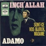 Inch' Allah / Sont-Ce Vos Bijoux, Modame - Adamo
