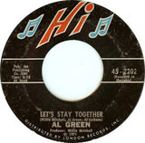 Let's Stay Together / Tomorrow's Dream - Al Green