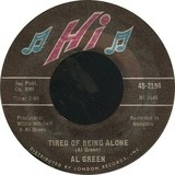 Tired Of Being Alone / Get Back Baby - Al Green