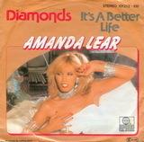 Diamonds / It's A Better Life - Amanda Lear