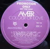 Colour Of Love - Amber