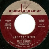 Are You Sincere - Andy Williams