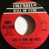 Days Of Wine And Roses / Moon River - Andy Williams