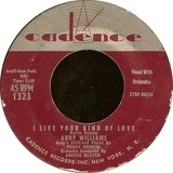 I Like Your Kind Of Love - Andy Williams With Archie Bleyer Orchestra
