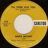 Till There Was You - Anita Bryant With Monty Kelly's Orchestra