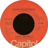 Walk right back - Anne Murray