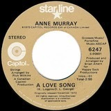 A Love Song / You Won't See Me - Anne Murray