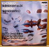 Violin Concerto • Violin Concerto - Arnold Schoenberg • Igor Stravinsky , Hyman Bress ⋆ The Prague Symphony Orchestra ⋆ Jindřich Rohan