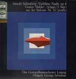Verklärte Nacht Op. 4 / Adagio (1. Satz) Aus Der Sinfonie Nr. 10 (Posth) - Arnold Schoenberg , Gustav Mahler , George Sebastian , Gewandhausorchester Leipzig