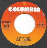 All I Know / Mary Was An Only Child - Art Garfunkel