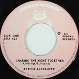 Sharing The Night Together / She'll Throw Stones At You - Arthur Alexander