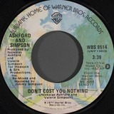 DON'T COST YOU NOTHING - Ashford & Simpson
