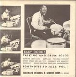 Talking and Drum Solos - Baby Dodds