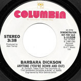 Anytime (You're Down And Out) - Barbara Dickson