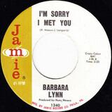I'm Sorry I Met You - Barbara Lynn