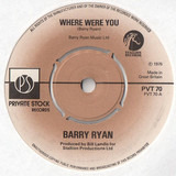 Where Were You - Barry Ryan