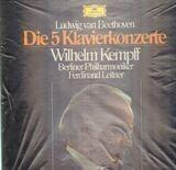 Die 5 Klavierkonzerte - Beethoven