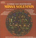 Missa Solemnis - Ludwig van Beethoven , Der Wiener Akademiechor , Wiener Philharmoniker , Otto Klemperer