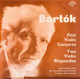 First Violin Concerto / Two Violin Rhapsodies (André Gertler,..) - Béla Bartók