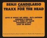 Traxx for the Head - Benji Candelario