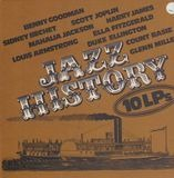 Jazz History 10 LPs - Benny Goodman / Sidney Bechet / Scott Joplin a.o.