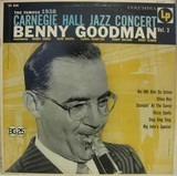 The Famous 1938 Carnegie Hall Jazz Concert Vol.3 - Benny Goodman