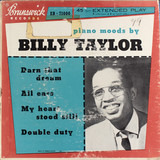 Billy Taylor Quartet