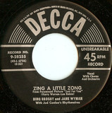 Zing a Little Zong - Bing Crosby And Jane Wyman