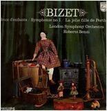 Jeux denfants, Symph no.1, La jolie fille de Perth,, LSO, Benzi - Bizet