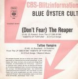 (Don't Fear) The Reaper / Tattoo Vampire - Blue Öyster Cult