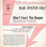 (Don't Fear) The Reaper / Tattoo Vampire - Blue Öyster Cult
