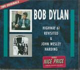 Highway 61 Revisited + John Wesley Harding - Bob Dylan
