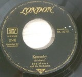 Kentucky / The Flowers Of Florence - Bob Moore And His Orchestra