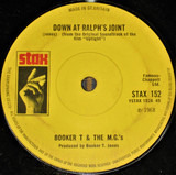 Down At Ralphs Joint / Something - Booker T & The MG's