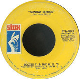 Something / Sunday Sermon - Booker T & The MG's