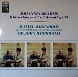 Johannes Brahms- Klavierkonzert Nr. 1 d-moll op. 15 - Brahms / Sir John Barbirolli, Daniel Barenboim, New Philharmonia Orchestra