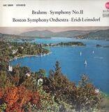 Symphony No. 2 D-dur, op. 73 - Brahms / Boston Symphony Orchestra, Erich Leinsdorf