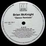 6, 8, 12 / Back At One Dance Remixes - Brian McKnight