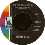 On The Road Again / Boogie Music - Canned Heat