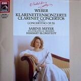 Klarinettenkonzerte / Clarinet Concertos Concertino - Carl Maria von Weber - Sabine Meyer