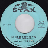 Let Me Be Good To You / Another Night Without My Man - Carla Thomas
