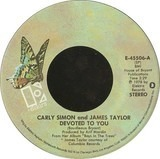 Devoted To You / Boys In The Trees - Carly Simon And James Taylor