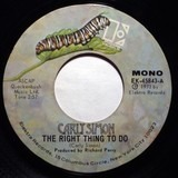 The Right Thing To Do - Carly Simon