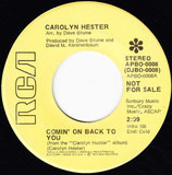 Comin' On Back To You - Carolyn Hester