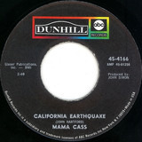 California Earthquake / Talkin' To Your Toothbrush - Cass Elliot