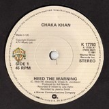 Heed The Warning - Chaka Khan