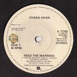 Heed The Warning - Chaka Khan