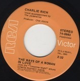The Ways Of A Woman In Love / Tomorrow Night - Charlie Rich
