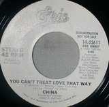 You Can't Treat Love That Way - China